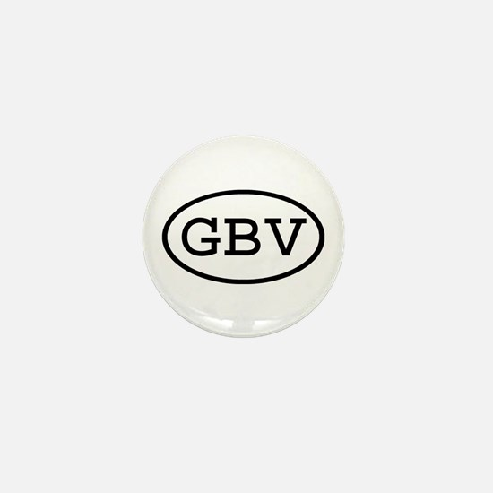 GBV Oval Mini Button