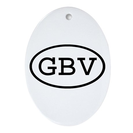 GBV Oval Oval Ornament