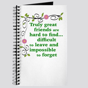 GREAT FRIENDS Journal