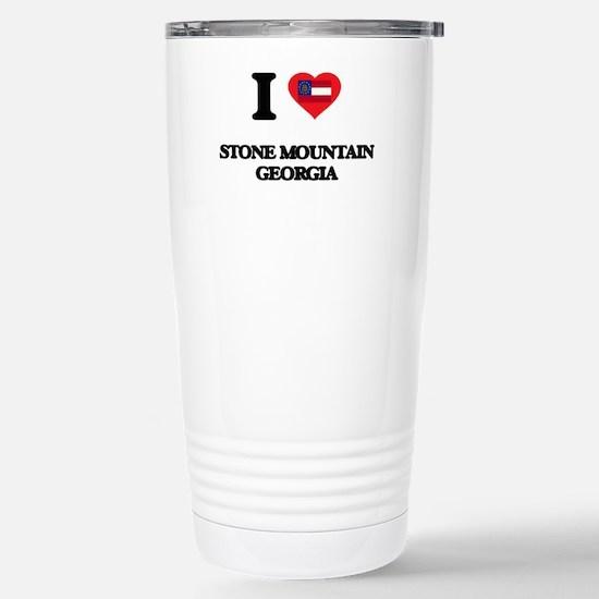 I love Stone Mountain G Stainless Steel Travel Mug