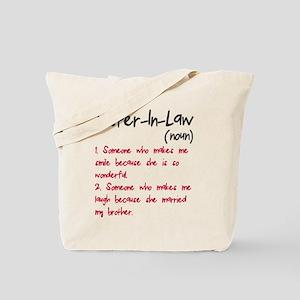 Sister-in-law Tote Bag