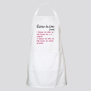 Sister-in-law Apron
