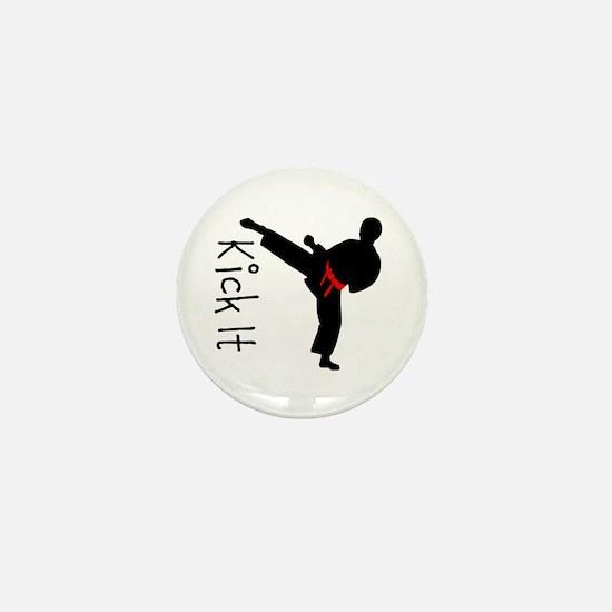 Karate Mini Button
