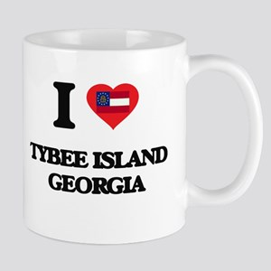 I love Tybee Island Georgia Mugs