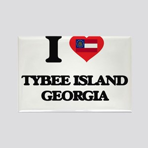 I love Tybee Island Georgia Magnets