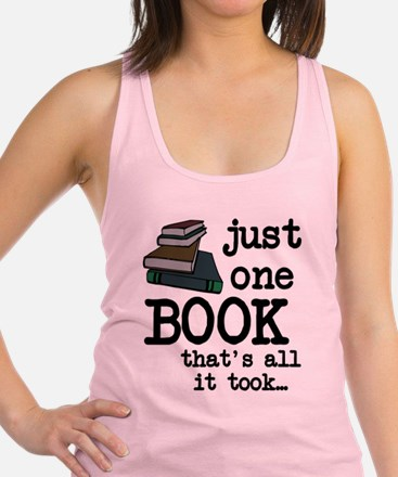 Just one book Racerback Tank Top