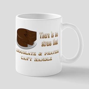 CHOCOLATE AND PRAYER Mug