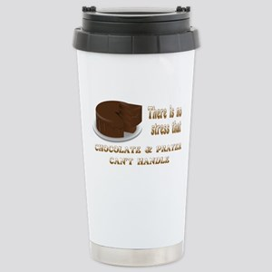CHOCOLATE AND PRAYER Stainless Steel Travel Mug