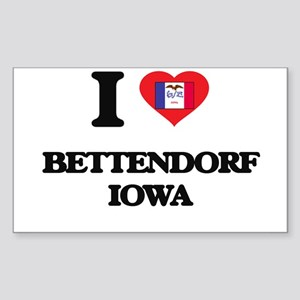 I love Bettendorf Iowa Sticker