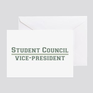 Student Council - Vice-President Greeting Card
