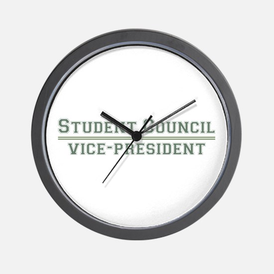 Student Council - Vice-President Wall Clock
