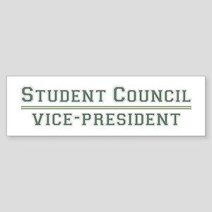 Student Council - Vice-President Bumper Sticker