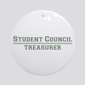 Student Council - Treasurer Ornament (Round)