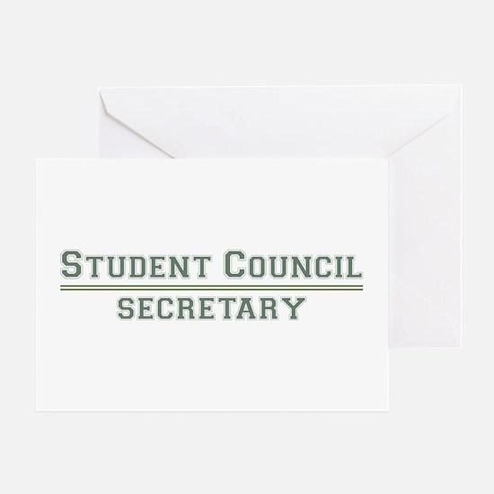 Student Council - Secretary Greeting Card