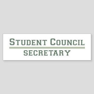 Student Council - Secretary Bumper Sticker
