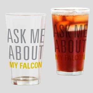 My Falcon Drinking Glass