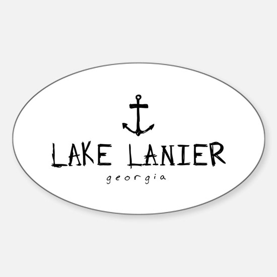Funny Anchors Sticker (Oval)