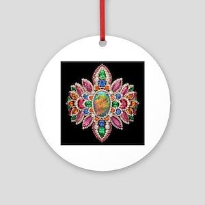 Costume Jewelry Ornament (Round)
