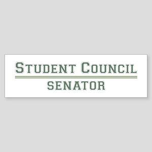 Student Council - Senator Bumper Sticker