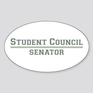 Student Council - Senator Oval Sticker