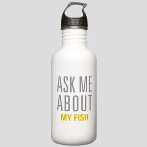 My Fish Stainless Water Bottle 1.0L