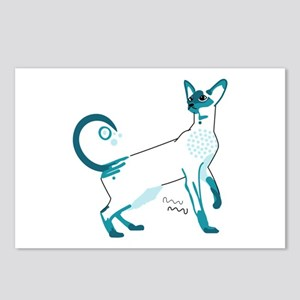 Siamese cat Postcards (Package of 8)
