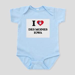 I love Des Moines Iowa Body Suit