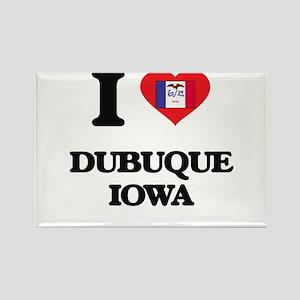 I love Dubuque Iowa Magnets