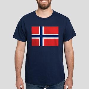 Flag of Norway Dark T-Shirt