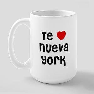 Te * Nueva York Large Mug