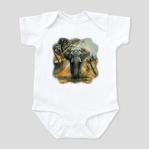 Elephant Sunrise Infant Bodysuit