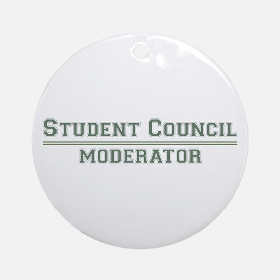 Student Council - Moderator Ornament (Round)