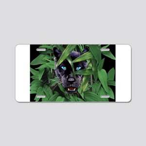 Prowling Panther Aluminum License Plate