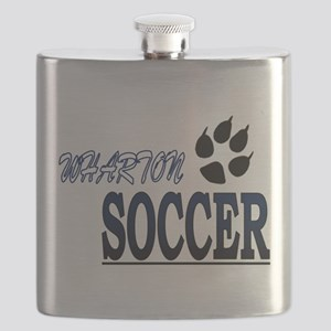 WHS Soccer Paw Flask