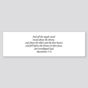 Revelation 7:11 Bumper Sticker