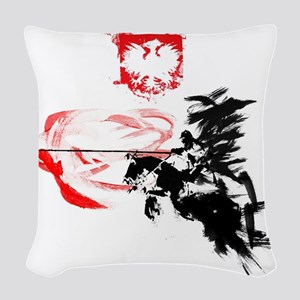 Polish Hussar Woven Throw Pillow