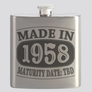 Made in 1958 - Maturity Date TDB Flask