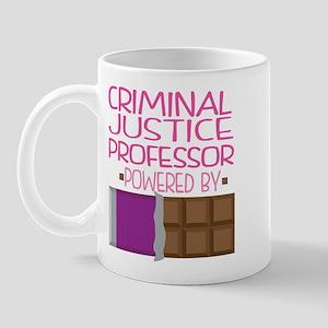 Criminal Justice Professor Mug