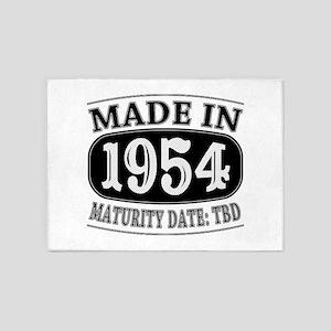 Made in 1954 - Maturity Date TDB 5'x7'Area Rug