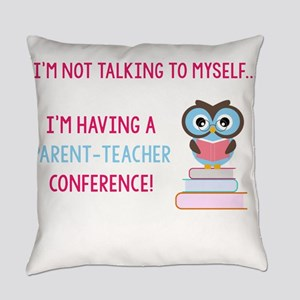 Parent-Teacher Conference Everyday Pillow