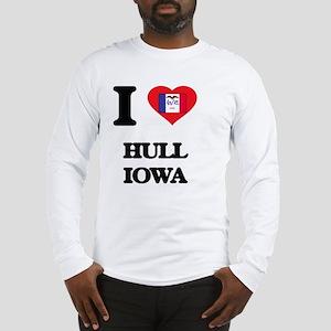 I love Hull Iowa Long Sleeve T-Shirt