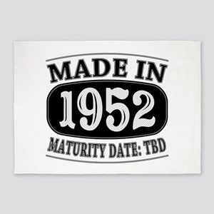 Made in 1952 - Maturity Date TDB 5'x7'Area Rug