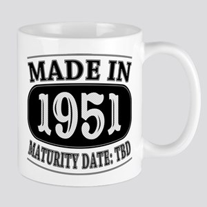 Made in 1951 - Maturity Date TDB Mug