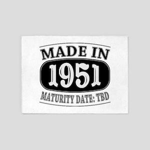 Made in 1951 - Maturity Date TDB 5'x7'Area Rug