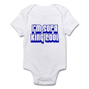 5992661ab Sofa King Baby Bodysuits - CafePress