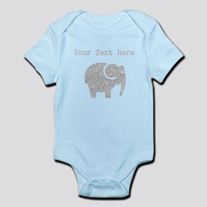 Distressed Grey Cartoon Elephant (Custom) Body Sui