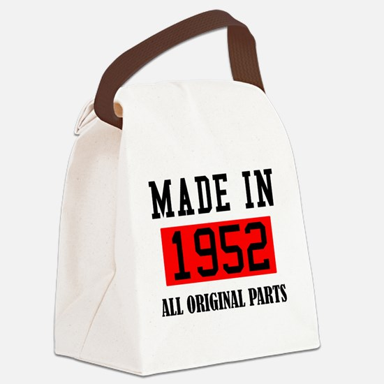 Cute Made in 1952 Canvas Lunch Bag