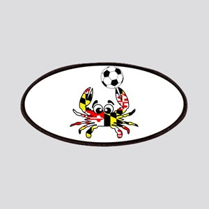 Maryland Crab With Soccer Ball Patch
