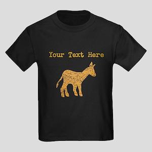 Distressed Brown Mule (Custom) T-Shirt