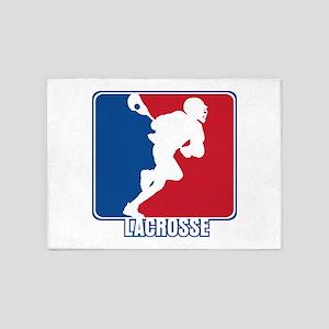 Major League Lacrosse 5'x7'Area Rug